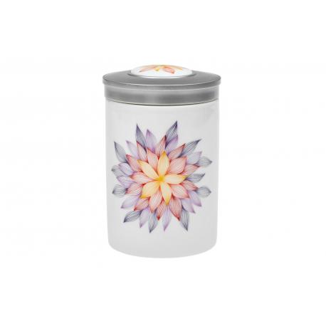 Mandala der Hoffnung – Porzellandose mit Deckel