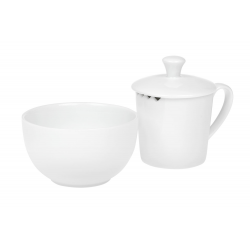Pure - porcelain tea taster set