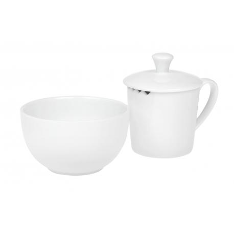 Tea taster Pure - porcelánový set na ochutnávku