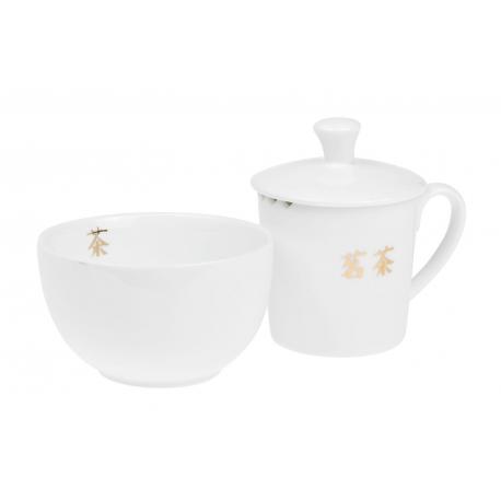 Tea taster Cha – Porzellanset für Verkostung