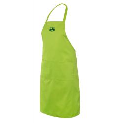 Zástěra s kapsou - světle zelená