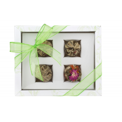 Adikia White - gift set of blooming teas