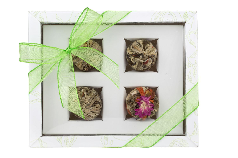 Adikia White - gift set of blooming teas