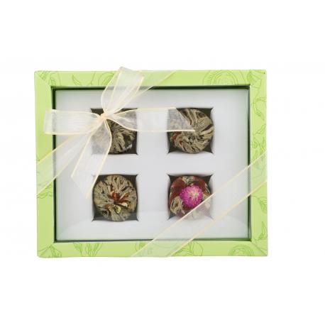 Adikia grün – Blütentee-Set