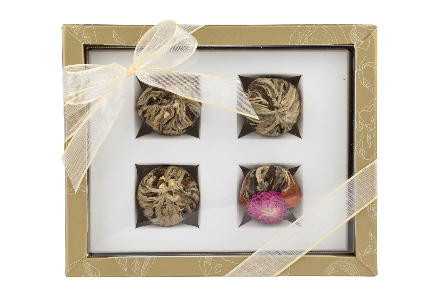 Adikia Golden - gift set of blooming teas