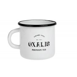 Vintage White 0.35 l - enamelware mug
