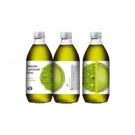 Matcha with kiwi fruit flavouring 330 ml