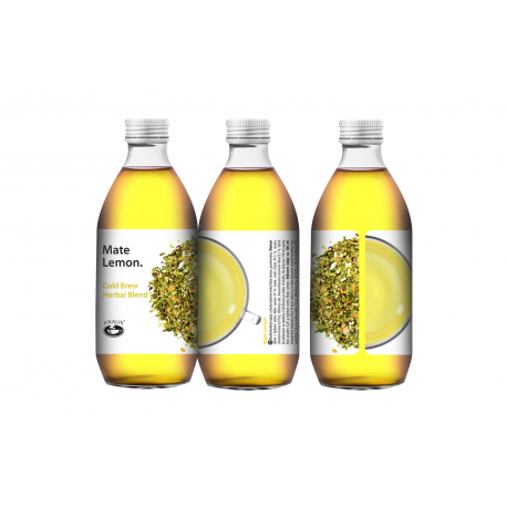 Mate Lemon - Cold Brew Herbal Blend 330ml