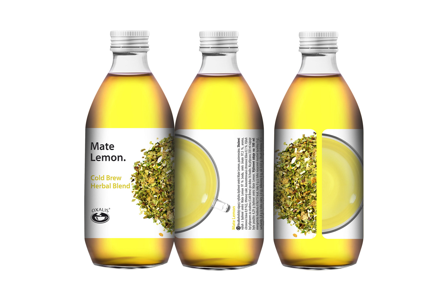 Mate Lemon - Cold Brew Herbal Blend 330ml