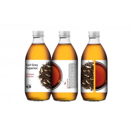 Earl Grey Superior - Cold Brew Black Tea 330 ml