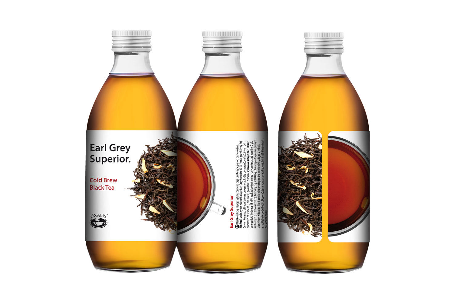 Earl Grey Superior - Cold Brew Black Tea 330 ml