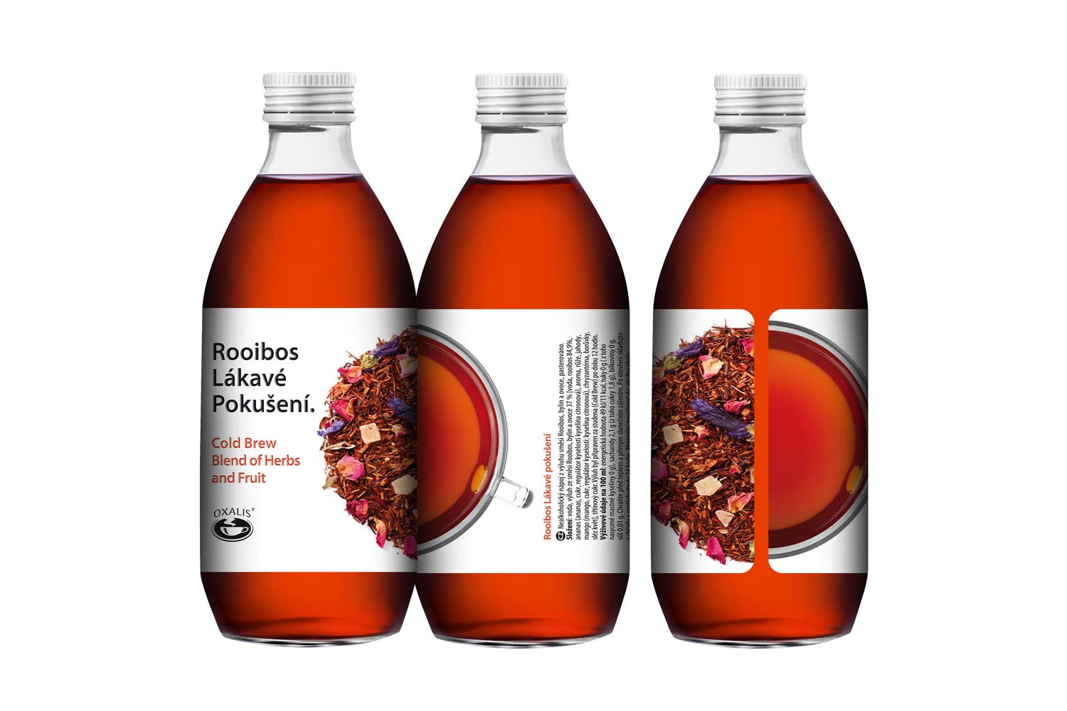 Rooibos Great Temptation - Cold Brew Herbal Blend 330 ml
