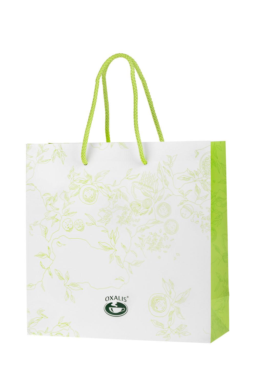Dárková taška OXALIS - bílá velká