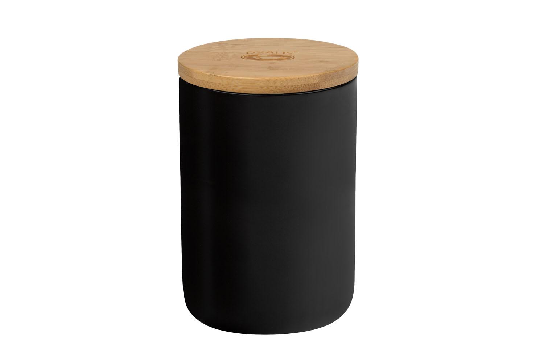 Storage Jar Night M – black