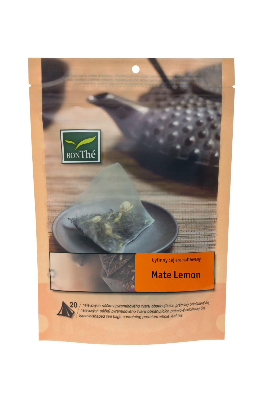 BonThe Maté Lemon; zip bag 20 pcs