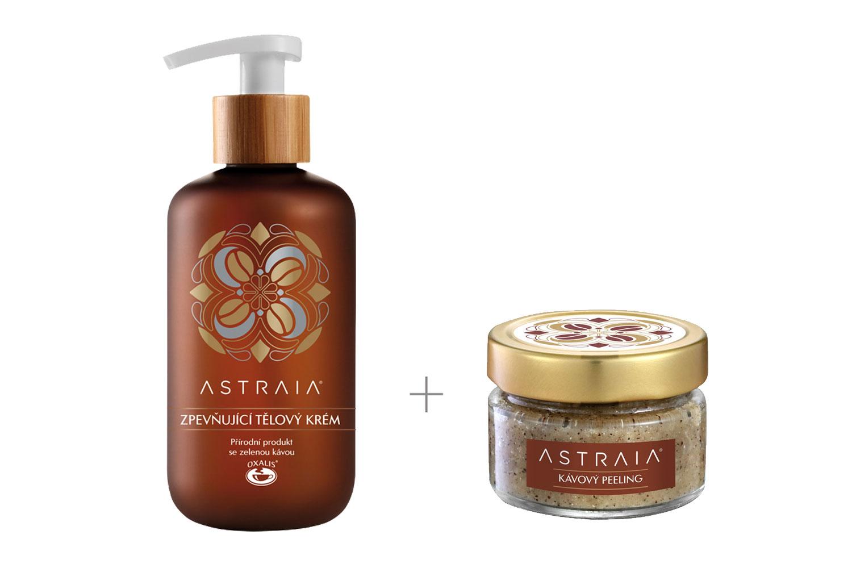 ASTRAIA - Zvýhodněný set (peeling + zpevňující krém)