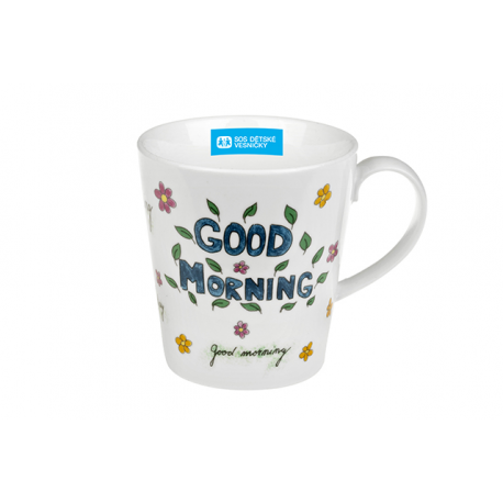 Good Morning - porcelain mug 0.3 l