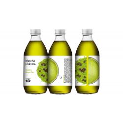 Matcha s kávou - Cold Brew Green Tea 330 ml