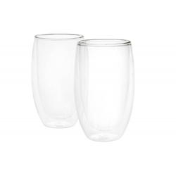 Dvoustěnný šálek - latte 0,4 l, 2 ks