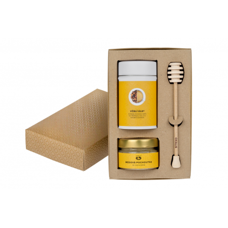 Medové potěšení - dárkové balení
