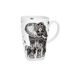 Elephant Family 0.6 l - fine bone china mug