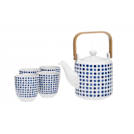 Dottie - stoneware set with stainless steel strainer