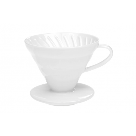 Coffee Dripper 02 - porcelain coffee dripper for 2-4 cups