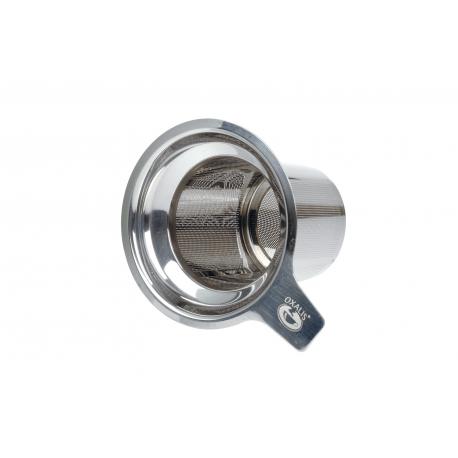 Oxalis stainless steel tea strainer
